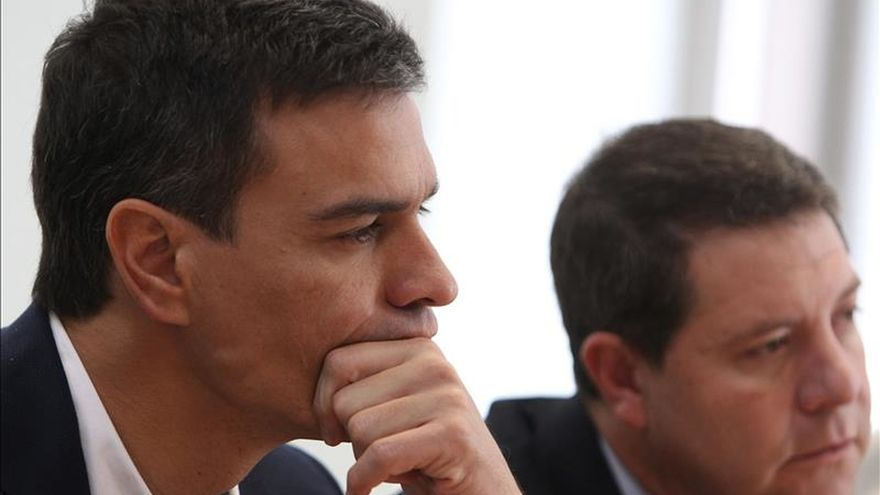 Pedro Sánchez se reúne hoy con García-Page para preparar el Comité Federal