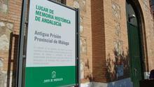 La antigua prisión provincial de Málaga, señalizada como Lugar de Memoria Histórica de Andalucía