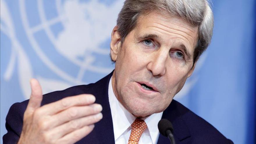 """EE.UU. cree """"prematuro"""" que la oposición siria participe en los diálogos de paz"""