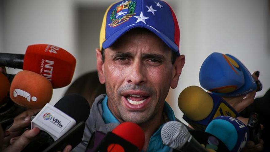 El partido de Capriles moviliza a sus militantes para relegitimarse en Venezuela