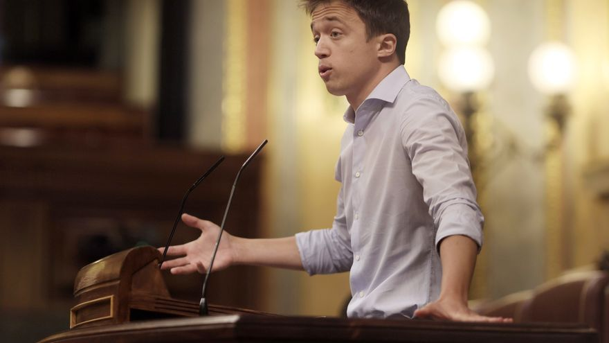 Errejón exploits the path of the green opposition to the Government