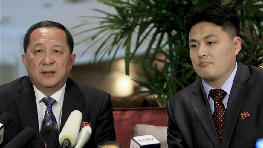 El canciller norcoreano participará en el Consejo de DDHH de la ONU en Ginebra