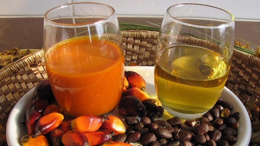 Que alimentos tienen aceite de palma