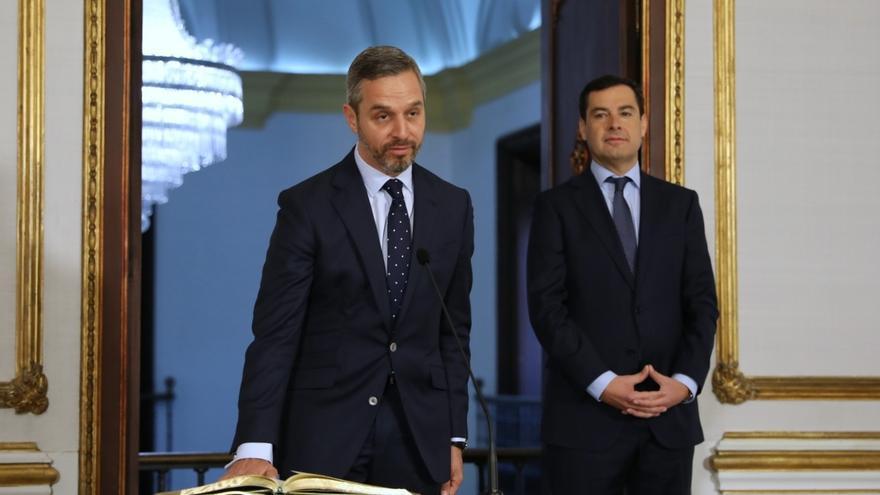 """Bravo se pondrá """"cuanto antes"""" con los Presupuestos de Andalucía para 2019 con el objetivo de tenerlos """"para mayo"""""""