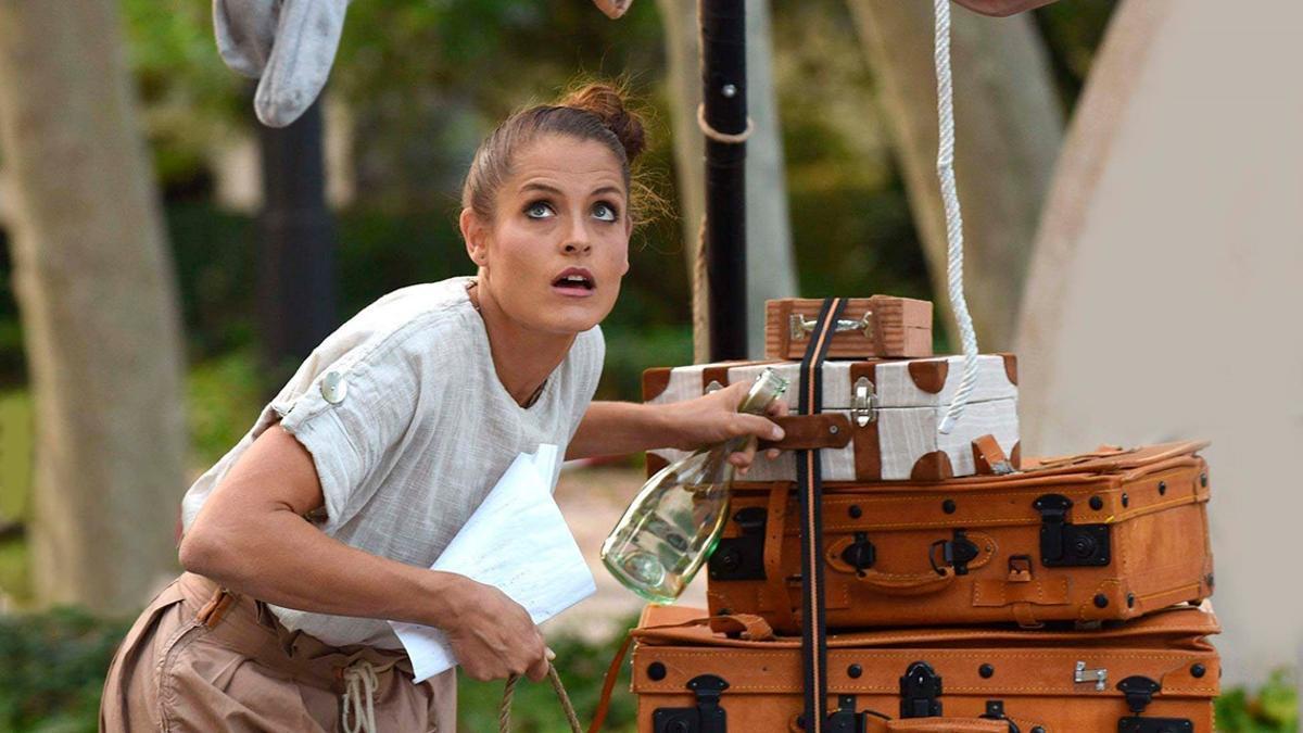 Un momento del espectáculo circense 'Los viajes de Bowa'