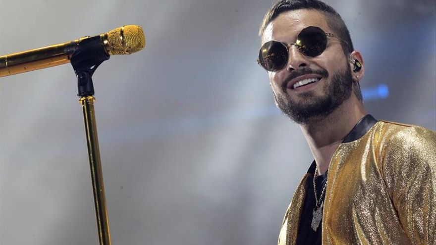 Madrid bulle entre feromonas con Maluma, el chico de oro del latineo global