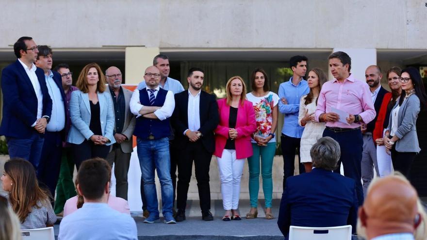Presentación de la candidatura de Ciudadanos al Ayuntamiento de Guadalajara