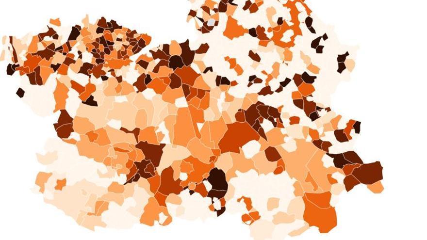 El 80% de los municipios de Castilla-La Mancha no ha registrado ningún caso de coronavirus en los últimos 7 días
