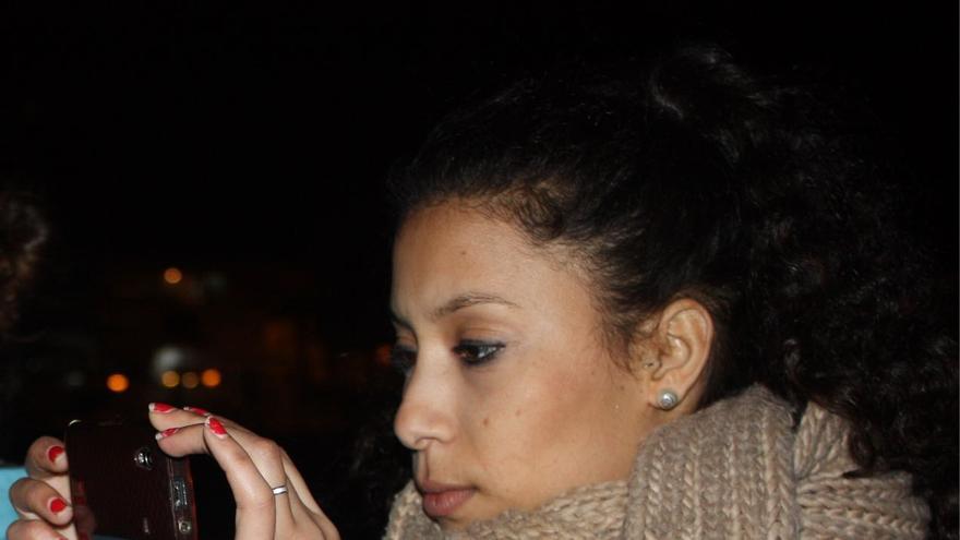 Maloma Morales antes de su secuestro