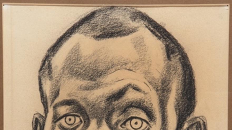 Retrato de Miguel Hernández de Ricardo Fuente