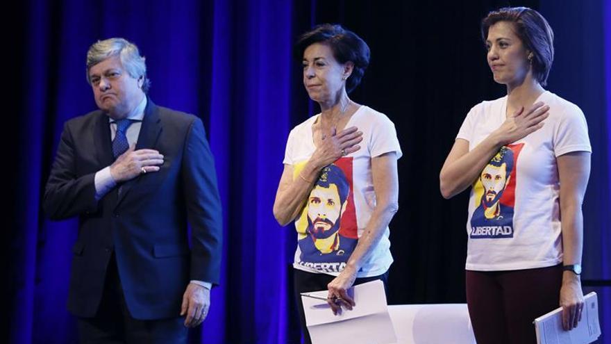 La hermana de Leopoldo López denuncia en Washington la crisis de Venezuela