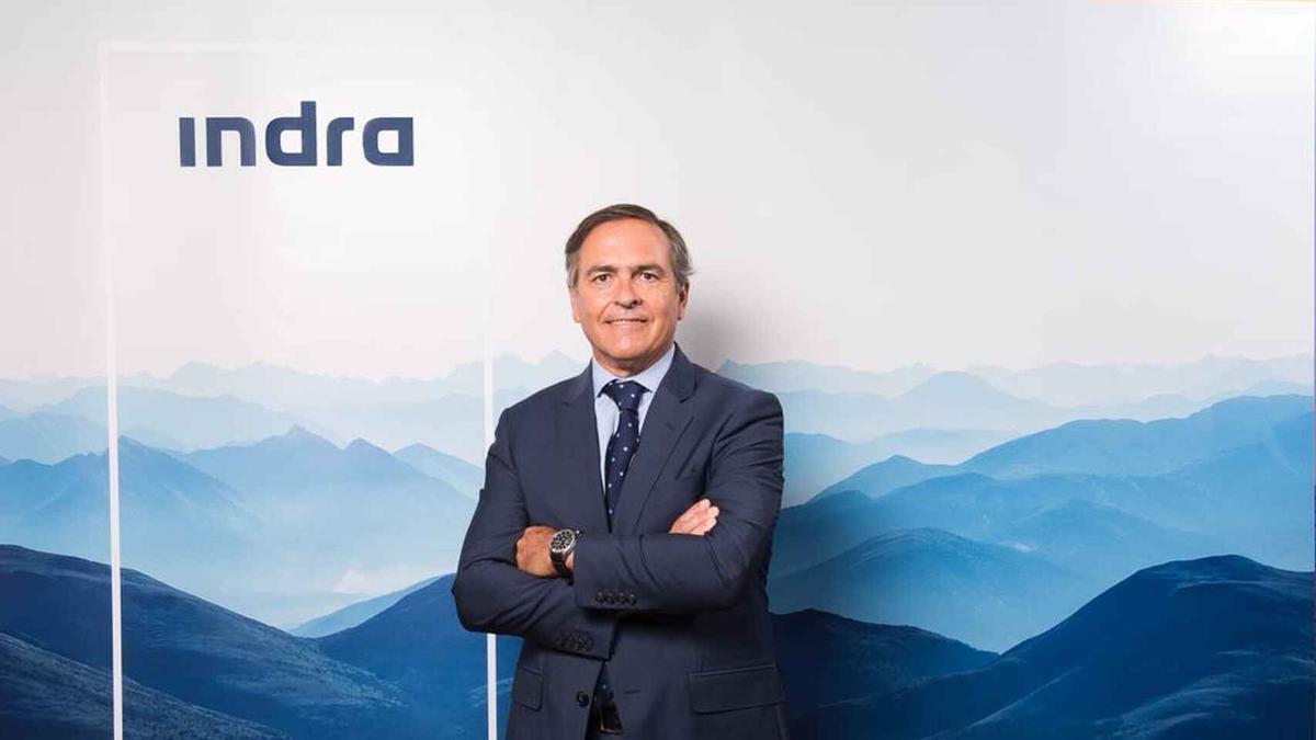 Ignacio Mataix, Consejero Delegado De Indra, Responsable De Transporte Y Defensa.