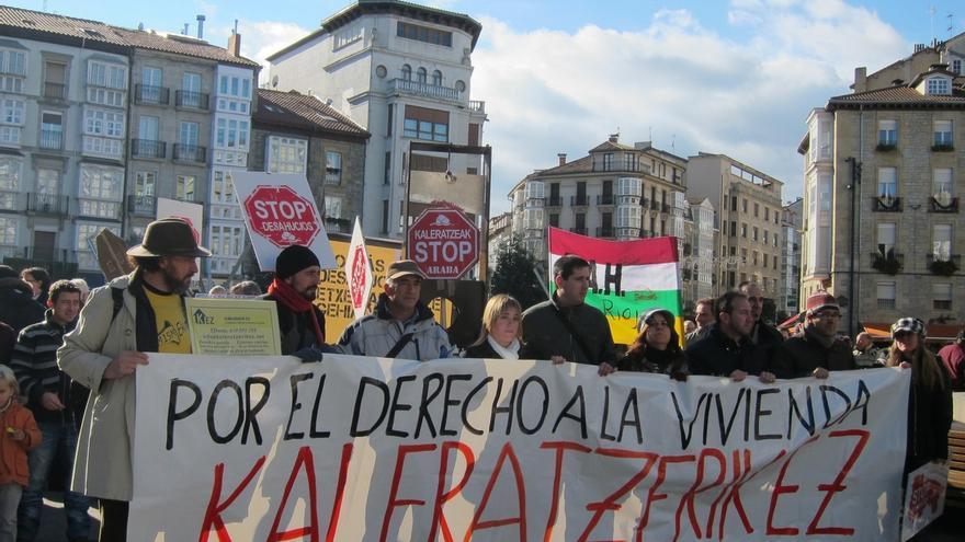 El servicio de Mediación Hipotecaria del Gobierno vasco evitó 25 desahucios el año pasado