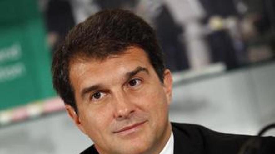 """Laporta asegura estar """"capacitado"""" para gobernar Cataluña"""