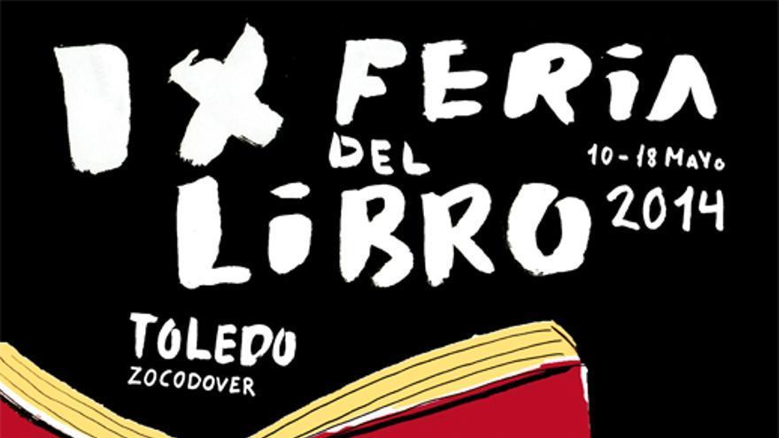 Cartel de la Feria del Libro de Toledo 2014, diseñado por Marina Gómez