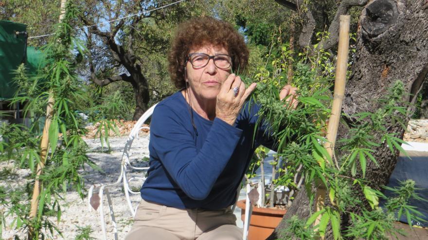 Fernanda de la Figuera, activista en favor de la regulación del cannabis.