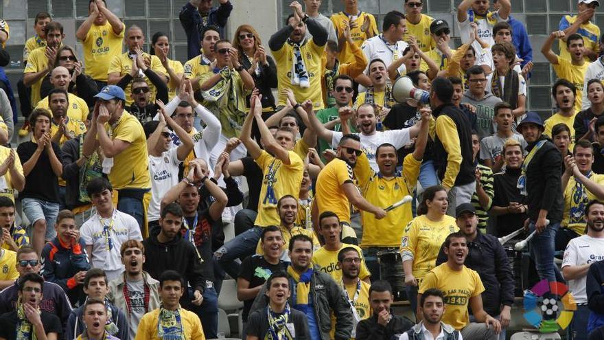 El Estadio de Gran Canaria registró la mejor entrada del año con más de 17.000 aficionados. LFP