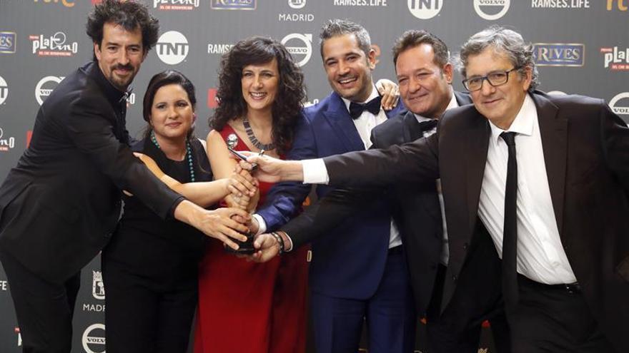 """""""Cuatro estaciones en La Habana"""", Platino a la mejor miniserie o teleserie"""