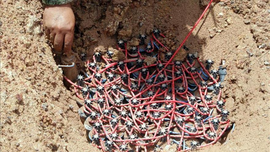 Durante 2015 se han usado municiones de racimo en cinco países en conflicto