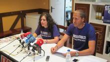El cambio político y Osasuna, entre los protagonistas de las pancartas para San Fermín 2015