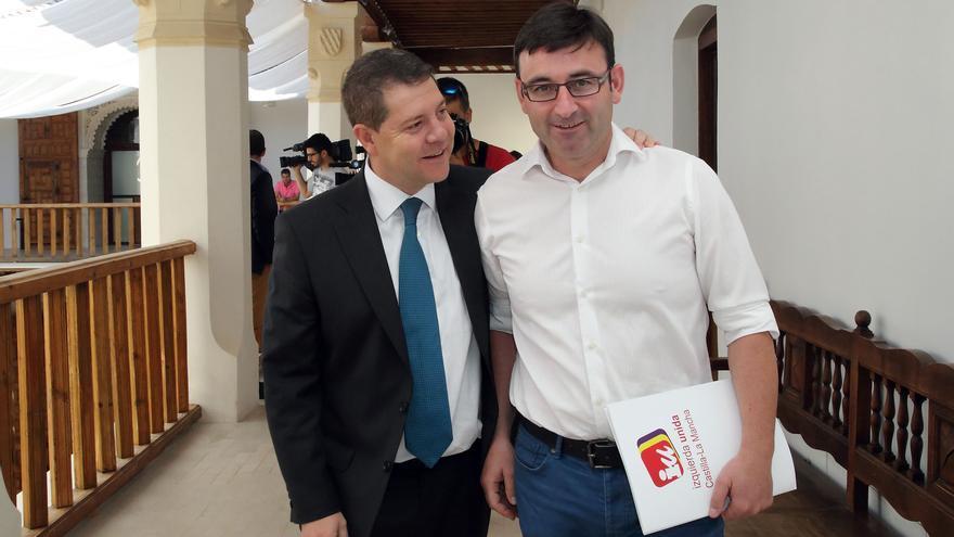 Emiliano García-Page con Daniel Martínez