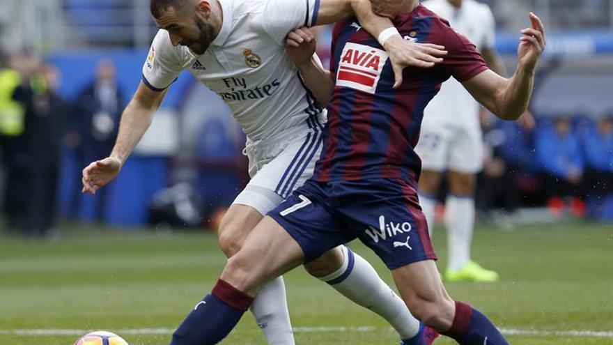 El Eibar mantuvo el tipo durante la segunda mitad.
