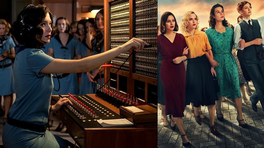 'Las chicas del cable' entre la primera y la quinta temporada