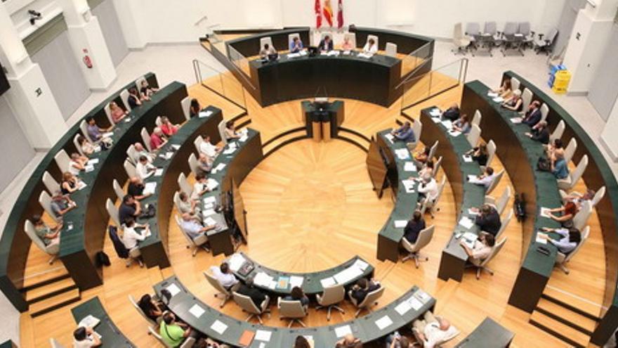 Uno de los plenarios del Observatorio de la Ciudad. / Madrid.org