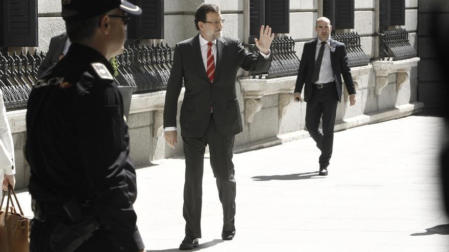 """Rajoy está """"muy contento"""" con el dato porque las cosas """"van bien"""" y confía en que """"van a ir a mejor"""""""