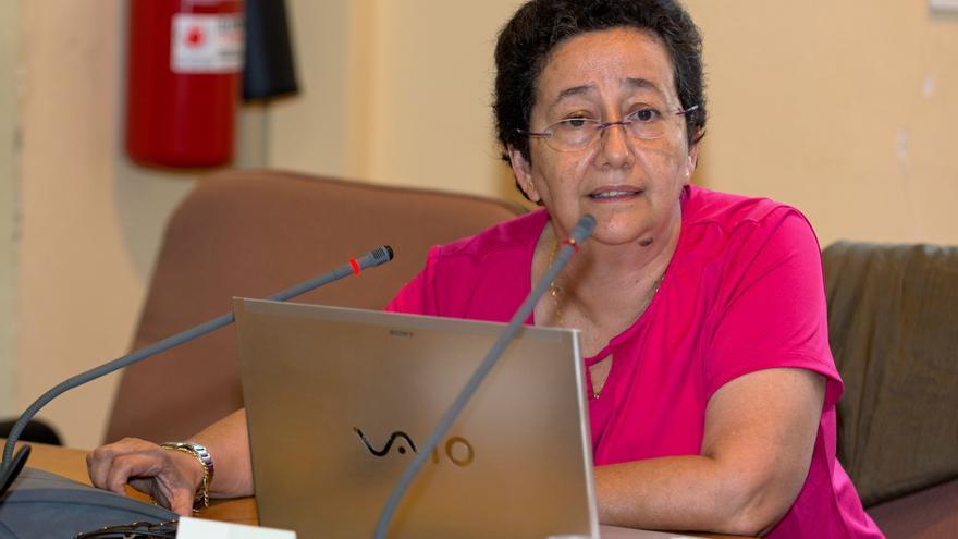 La vicerrectora de Comunicación de la Universidad de Las Palmas de Gran Canaria, Trinidad Arcos.