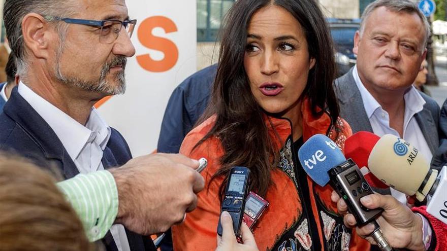 """Villacís ilusionada con que Madrid pueda tener una """"alcaldesa mitad abulense"""""""