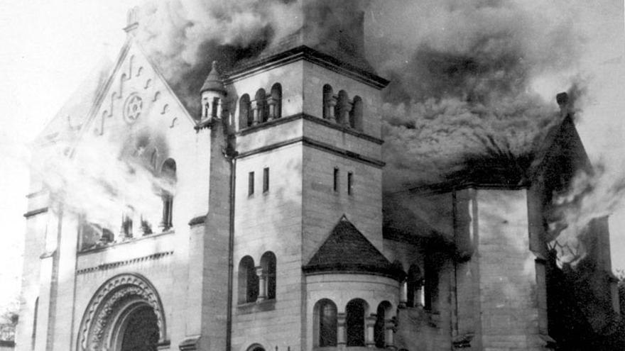 Kristallnacht, la noche de los cristales rotos