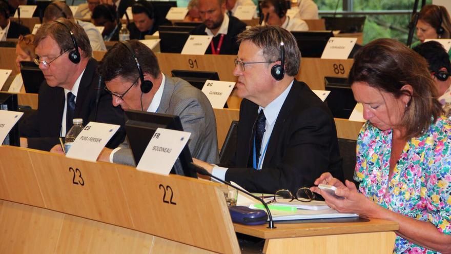 El president Ximo Puig en Bruselas