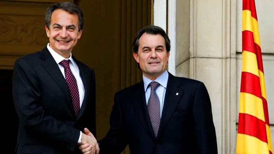 Cara a cara Zapatero y Artur Mas y entrevista a Serrat en el próximo Salvados