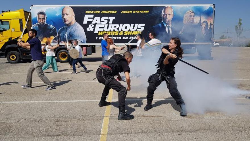 """Talento, riesgo y preparación: cómo rodar la acción de """"Fast & Furious"""""""
