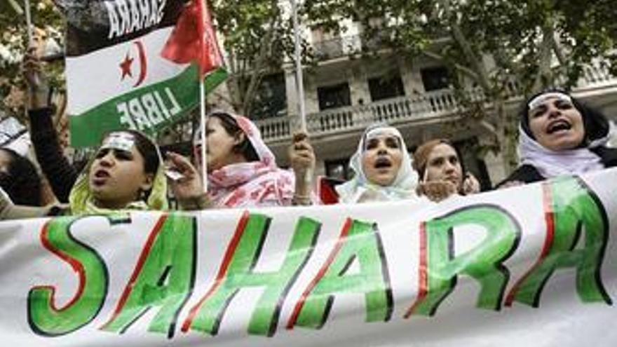 Cientos de personas se manifiestan en Madrid por la autodeterminación del Sáhara