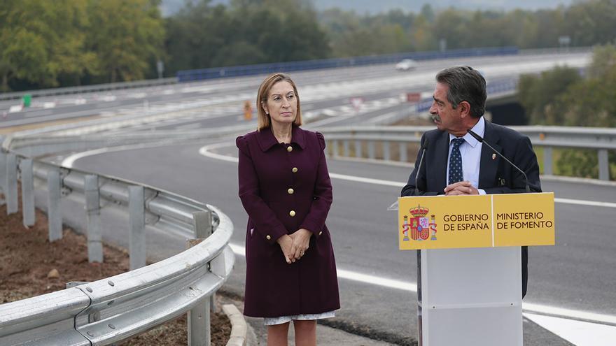 Inaugurado el tramo de la A-8 entre Solares y Torrelavega