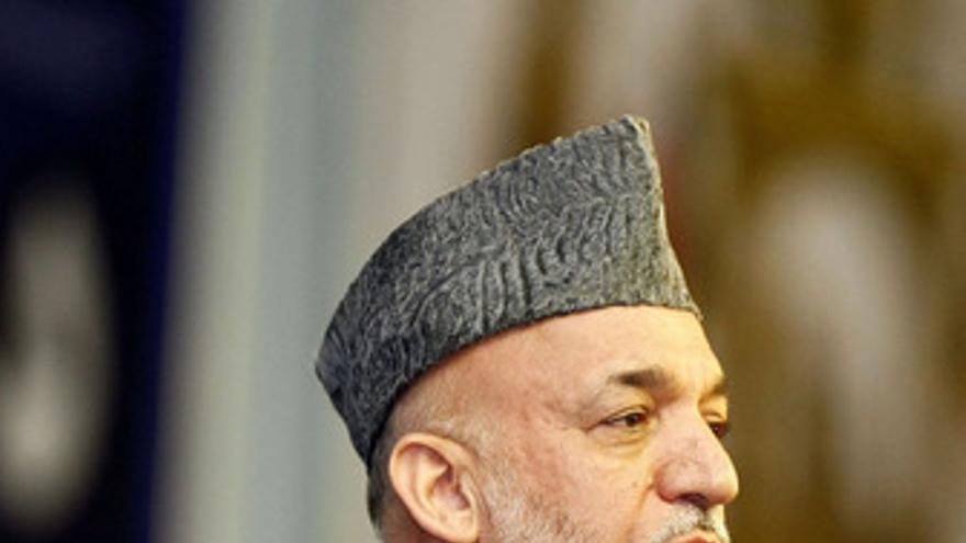 Hamid Karzai. (EUROPA PRESS)