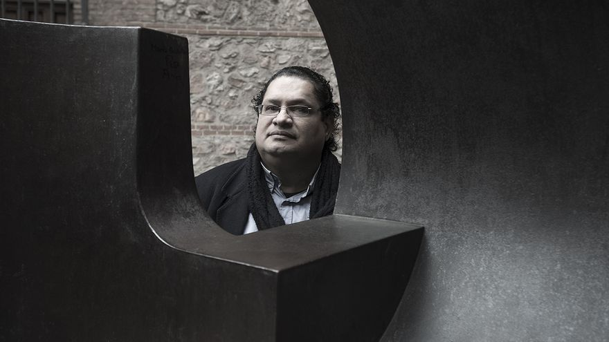 El escritor Juan Carlos Chirino.