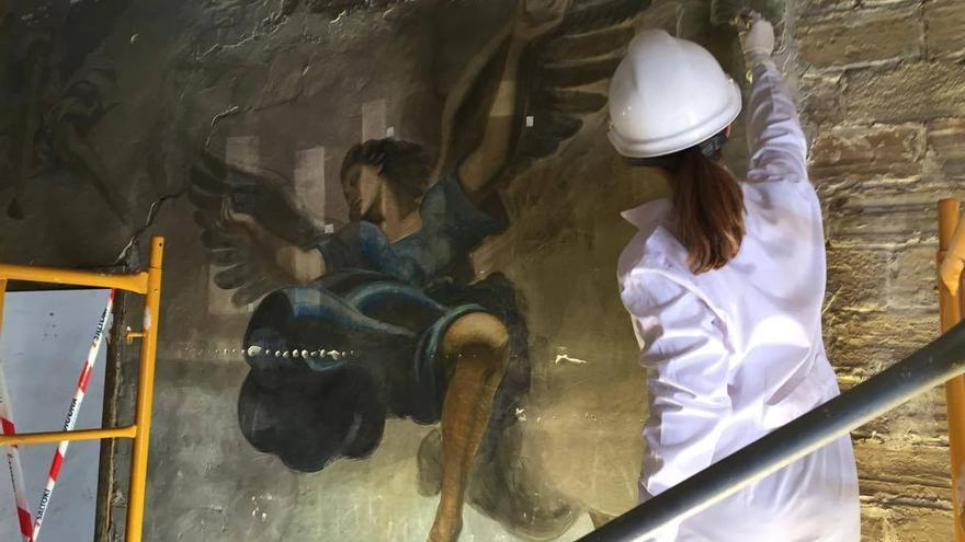 Los trabajos de restauración que se están desarrollando en las instalaciones de Ceramo