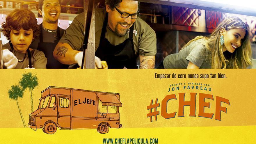 Cartel de la película 'Chef'