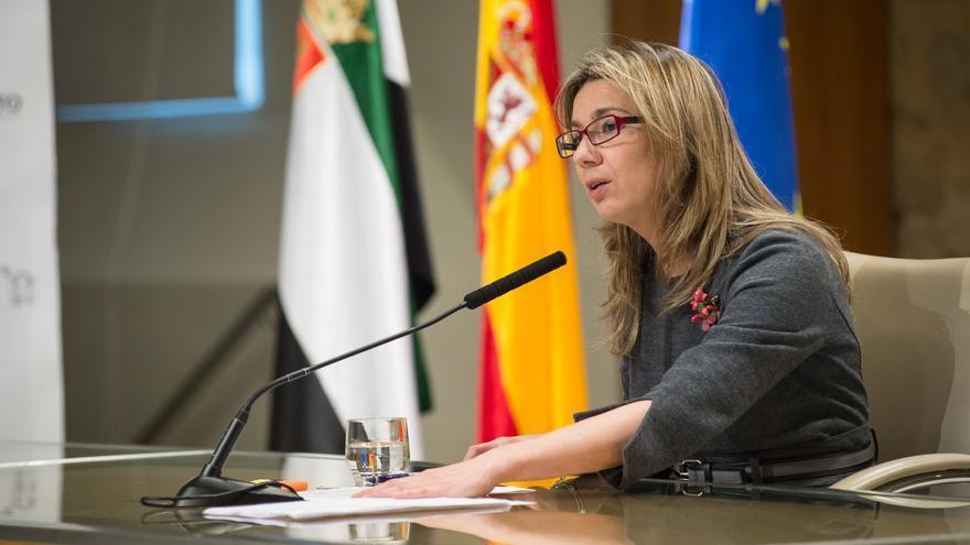 Cristina Teniente, vicepresidenta de la Junta de Extremadura / GobEx