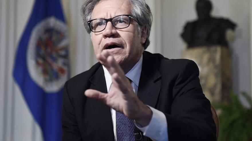 Almagro se reúne con Ramos Allup antes de la sesión de la Carta Democrática en la OEA