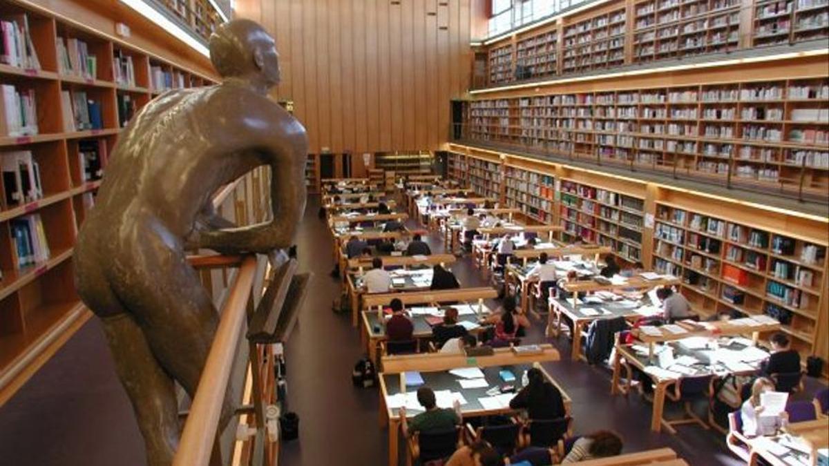 Biblioteca de la Universidad de Las Palmas de Gran Canaria.