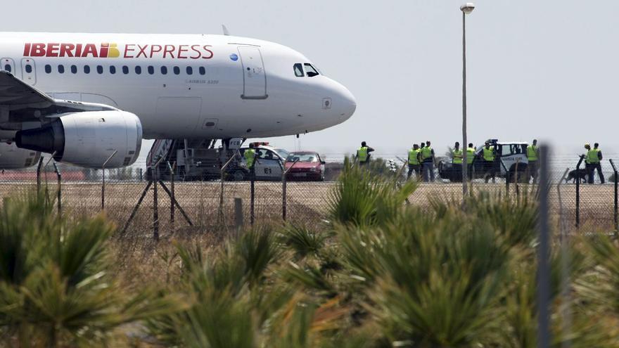 Regresa a Gran Canaria un vuelo de Iberia a Madrid tras sufrir una avería