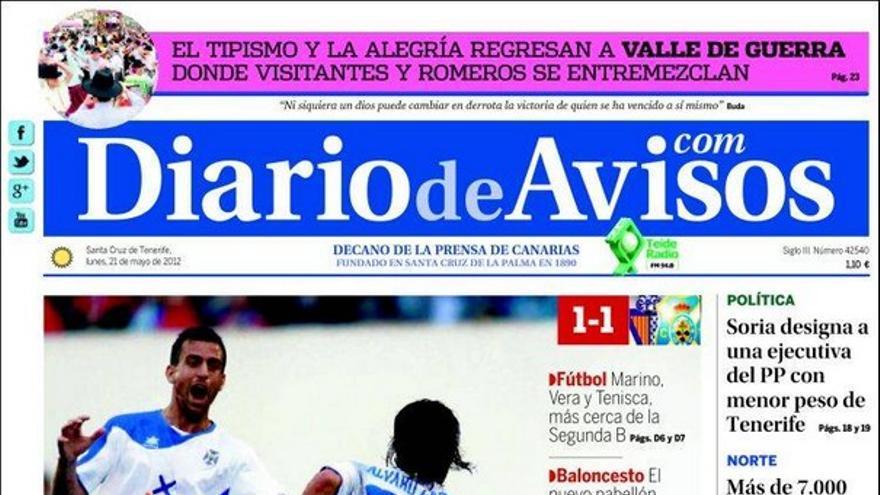 De las portadas del día (21/05/2012) #3
