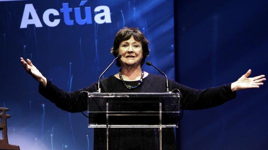 La actriz Julieta Serrano, Premio Nacional de Teatro