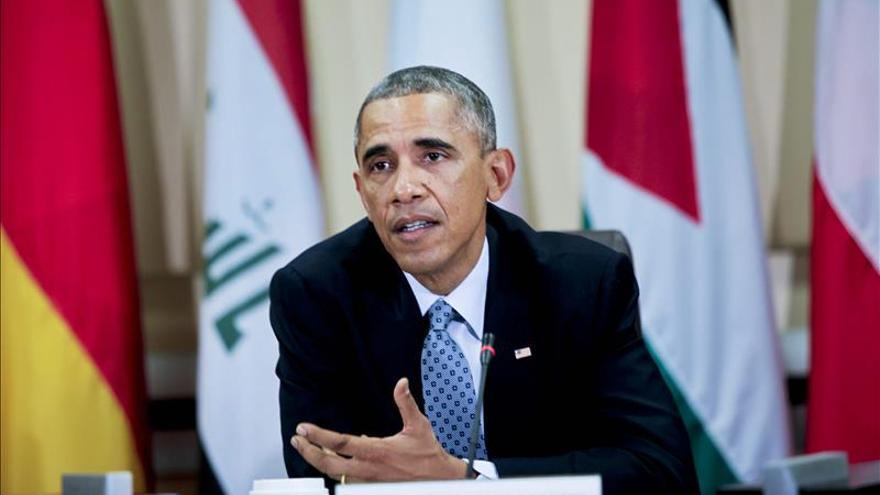 Obama se resiste a una estrategia más agresiva ante los avances del EI