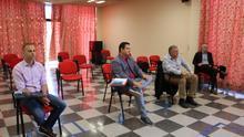 Los asistentes abordaron igualmente la elaboración del protocolo para evitar el fondeo ilegal de embarcaciones en la Playa de Las Vistas.