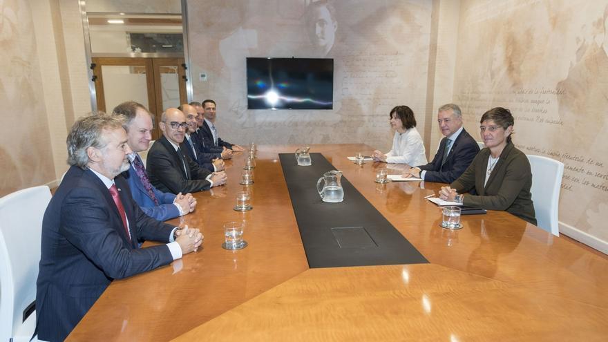 """El Lehendakari recibe a una delegación de Quebec que participa en """"Euskadi Learning Tour 2019"""""""